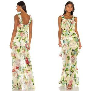 Alice McCall Wild Frontiers Gown in Lemon Floral
